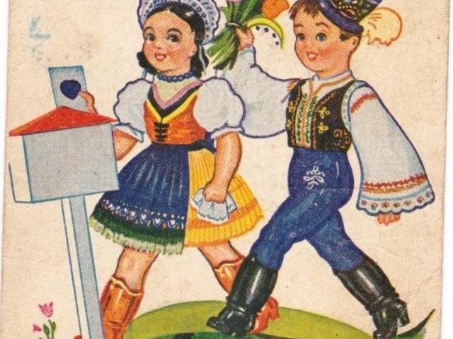 Így udvaroltak képeslappal