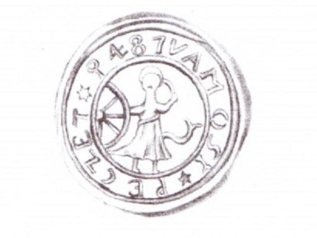 AZ 1487-ES SZENT KATALIN PECSÉT