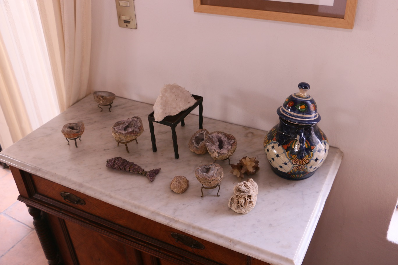 Ásványárusokkal tele van Guanajuato (bányászváros, duh)