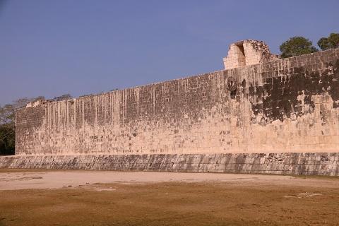 A Nagy Labdapálya egyik fala