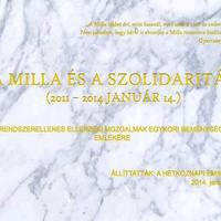 Koszorút helyeztünk el a Milla és a Szolidaritás emlékére