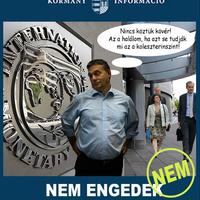 Nem leszünk az IMF Gyirmóttya!