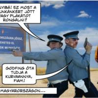 A mi partizánunk: a plakátbűnöző