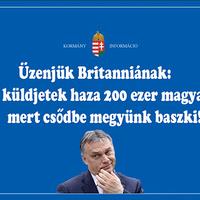 Orbán Viktor azt üzeni