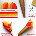 DIY olimpiai fáklyák, lángok
