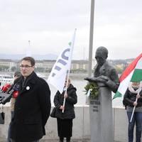 A Párbeszéd Magyarországért (PM) központi október 23-i megemlékezése.