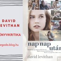 KÖNYVKRITIKA: David Levithan - Nap nap után