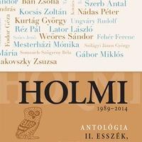 Réz Pál (szerk.): Holmi-antológia II. Esszék, dokumentumok