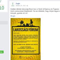 Lakossági fórum szűk körben
