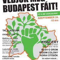 Védjük meg Budapest fáit!