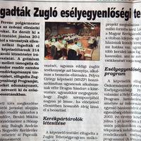 Zuglóból Közép-Ázsiába - Esélyegyenlőség a helyi médiában