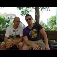 Budapesten át szívattuk egymást Ádámmal