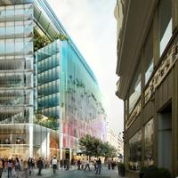 Készülnek a futurisztikus budapesti irodaház építésére