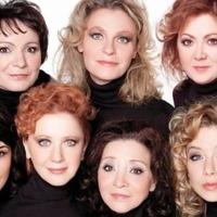 Nyolc nő a zsidó fürdőben