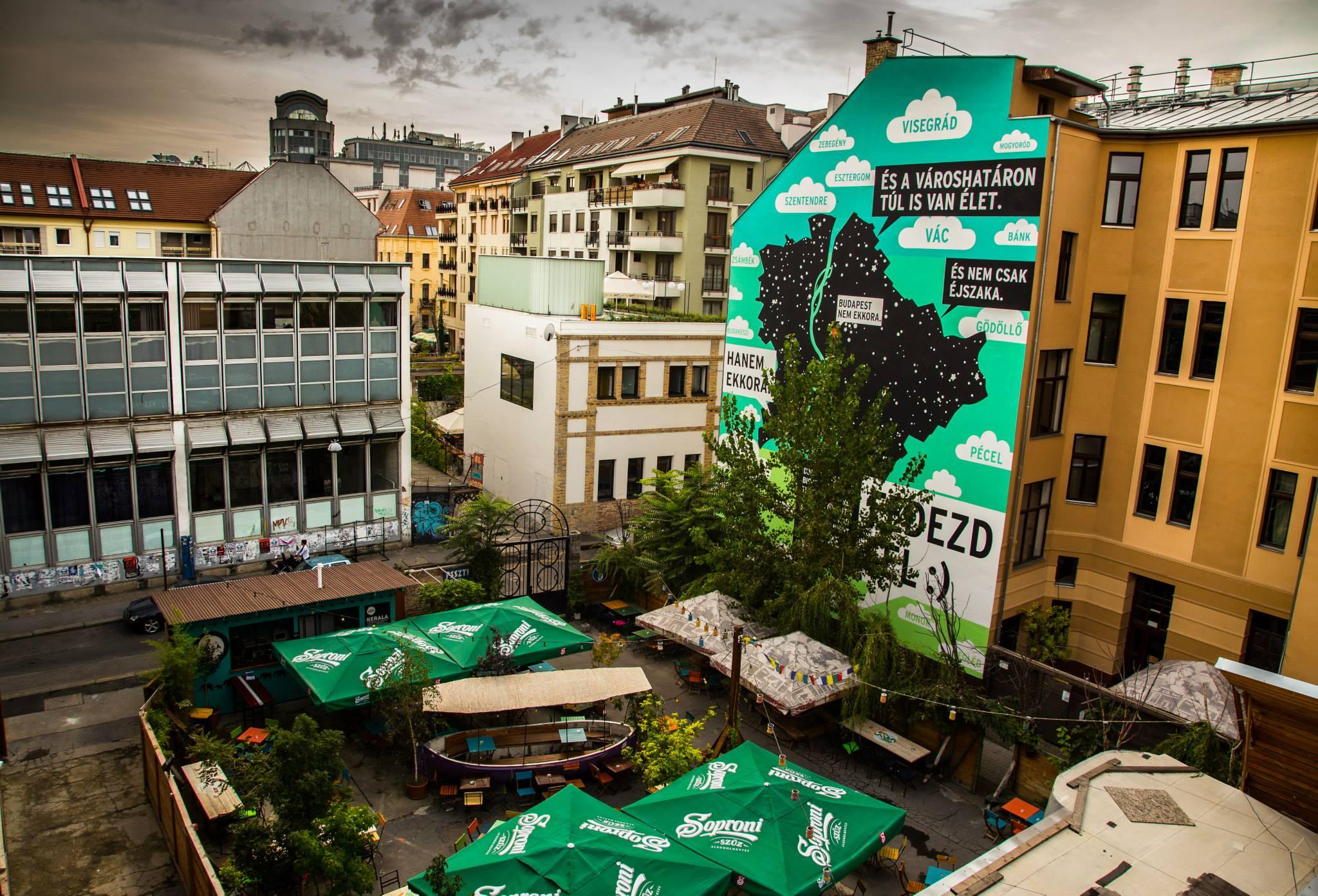 budapest romkocsma térkép A legjobb budapesti falfestmények egy térképen   Egy nap a városban budapest romkocsma térkép