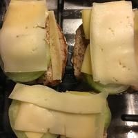Hagymás, sajtos, tejszínes hús