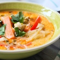 Thai csirkés tésztaleves