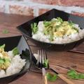 Zöld curry pillanatok alatt