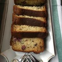 Banános-meggyes muffin kenyér