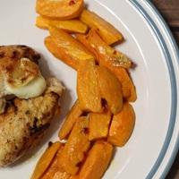 Mozzarellás-bazsalikomos csirke