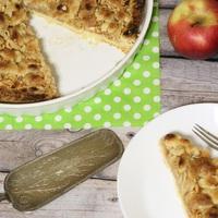 Szórt almás pite