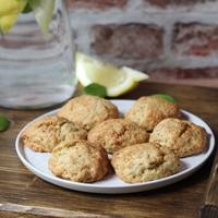 Bazsalikomos-citromos keksz