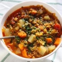 Egyiptomi vöröslencse leves
