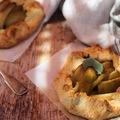 Mini galette fehérboros-fűszeres körtével
