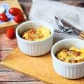 Sonkás-sajtos tojásmuffin