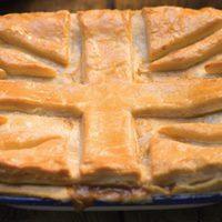 Csirkés-gombás pite