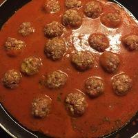 Olasz húsgombóc tésztával