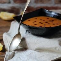Kardamomos sütőtökkrém leves