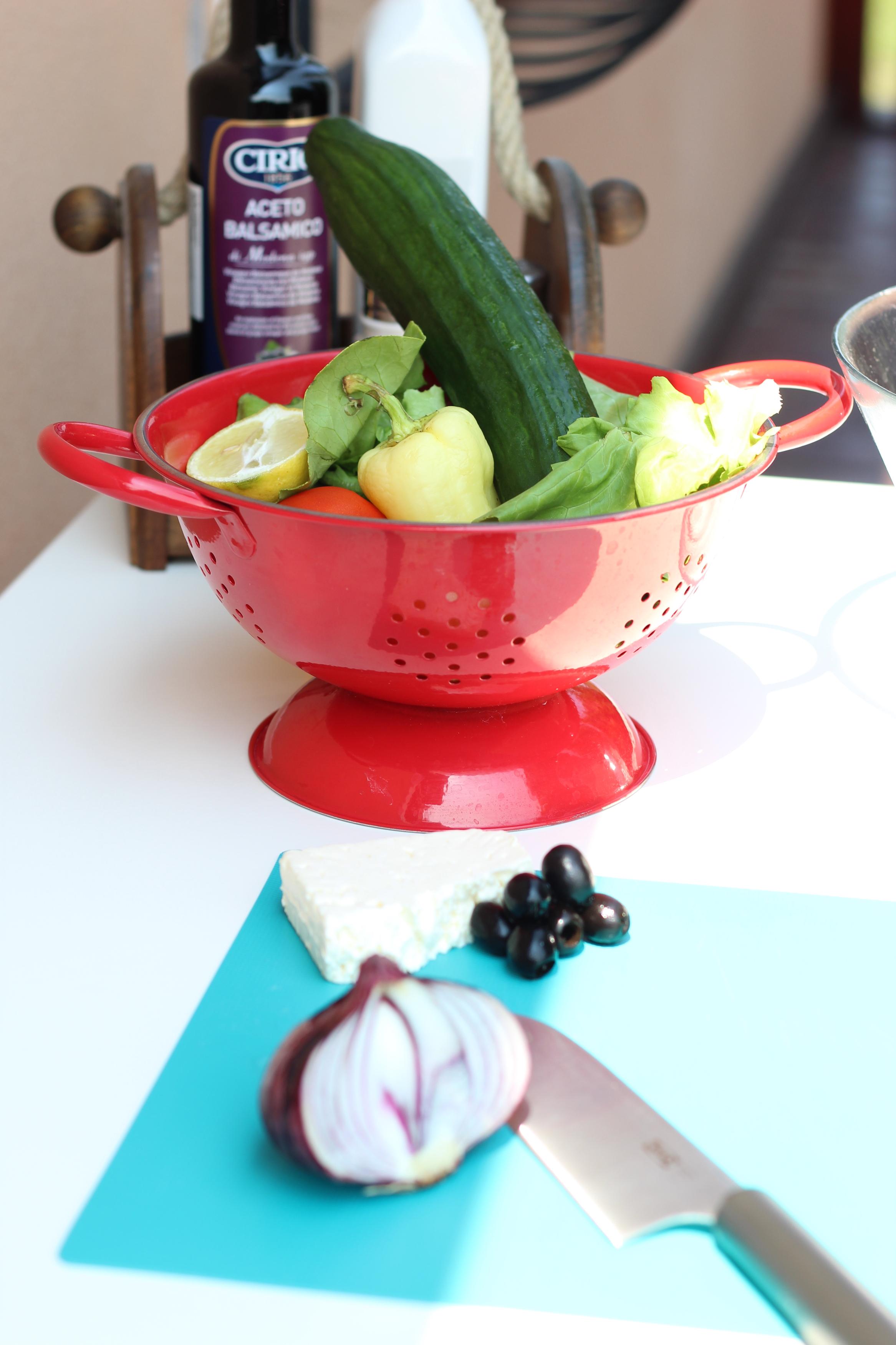 Könnyű saláta akár vacsorára