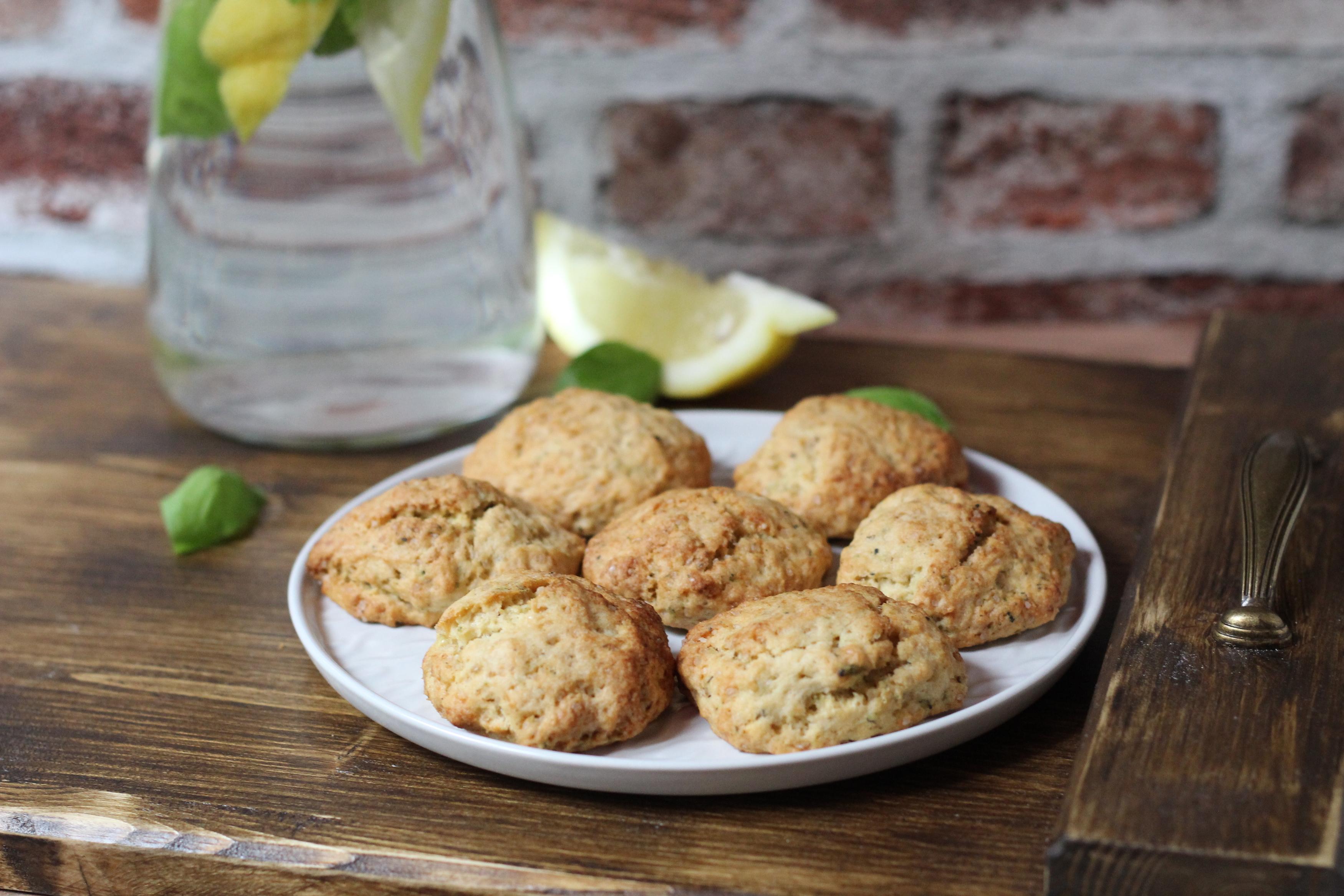 Bazsalikomos-citromos keksz - Friss és üdítő keksz, olyan az íze, mint a limonádé