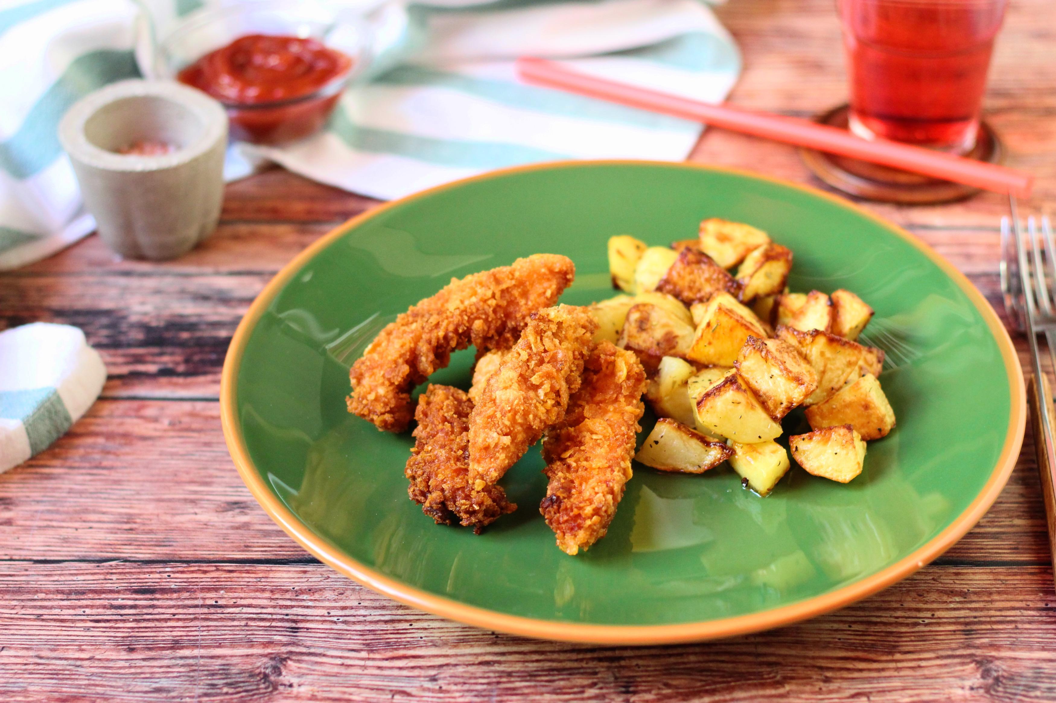 Csirke kukorica bundában