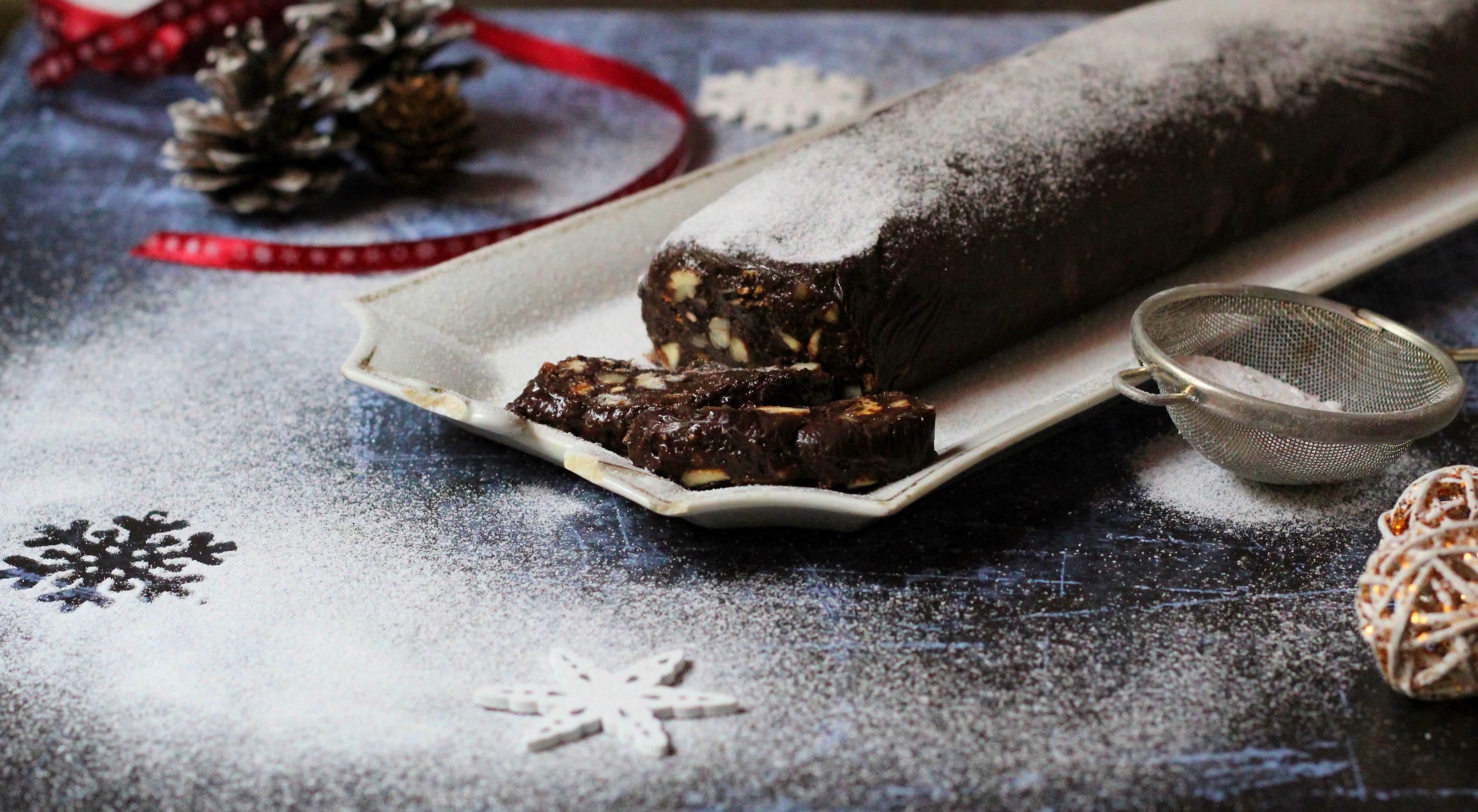 Csokiszalámi - Az olaszok ellenállhatatlan desszertje
