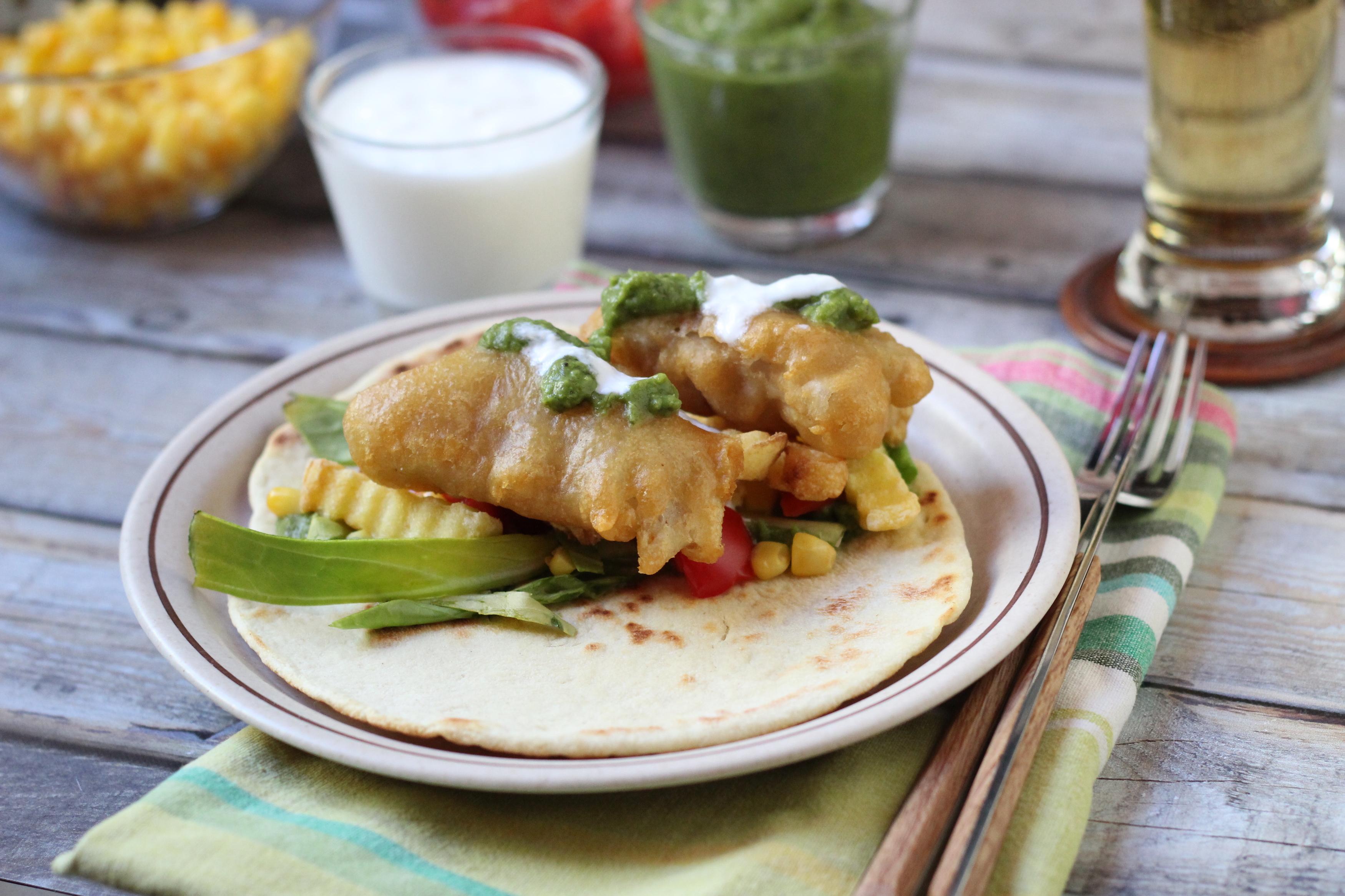 Fish and chips tortilla - Csinálj két ételből egy újat!