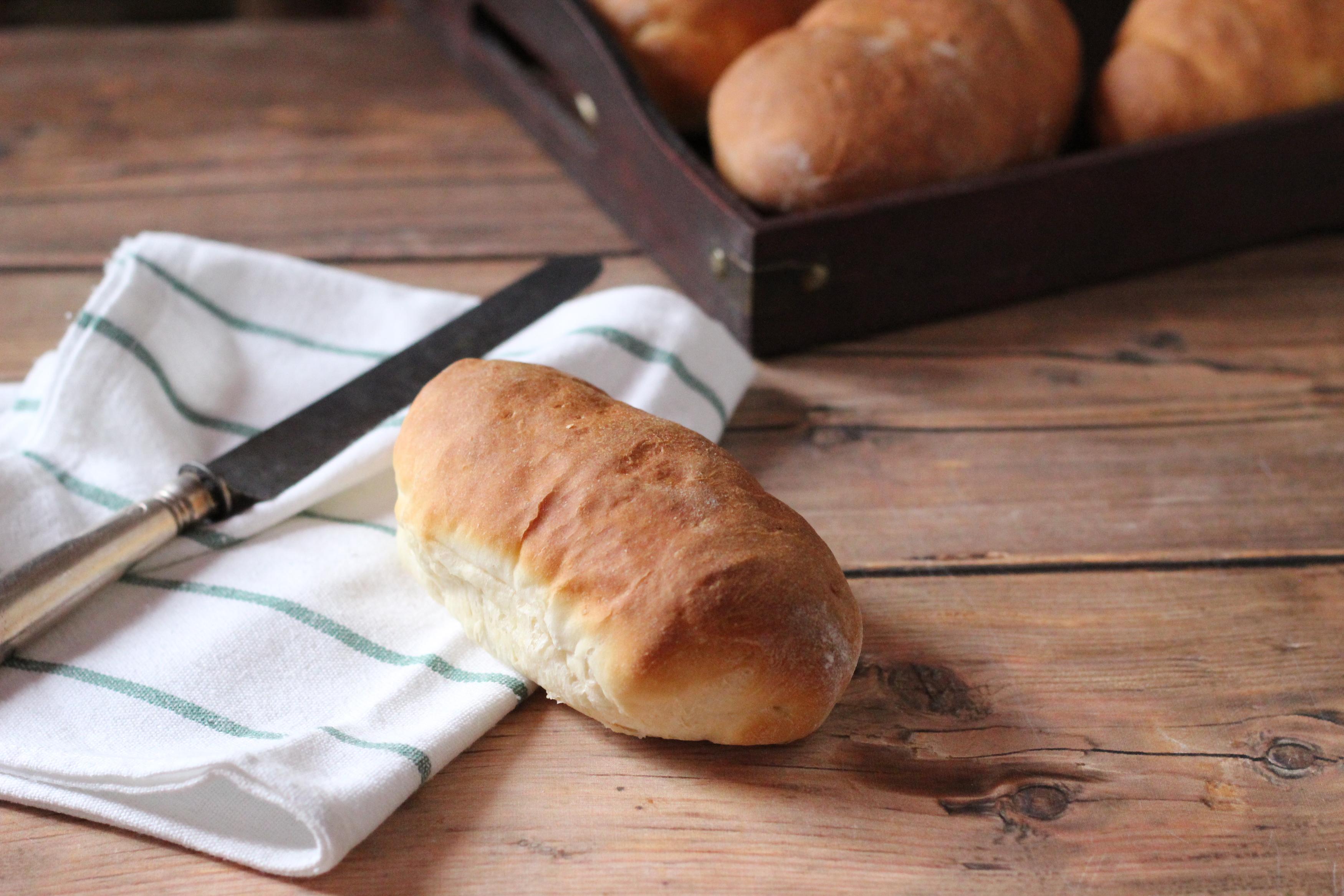 Hot dog bun - Az amerikai, puha és kicsit édes hot dog kifli