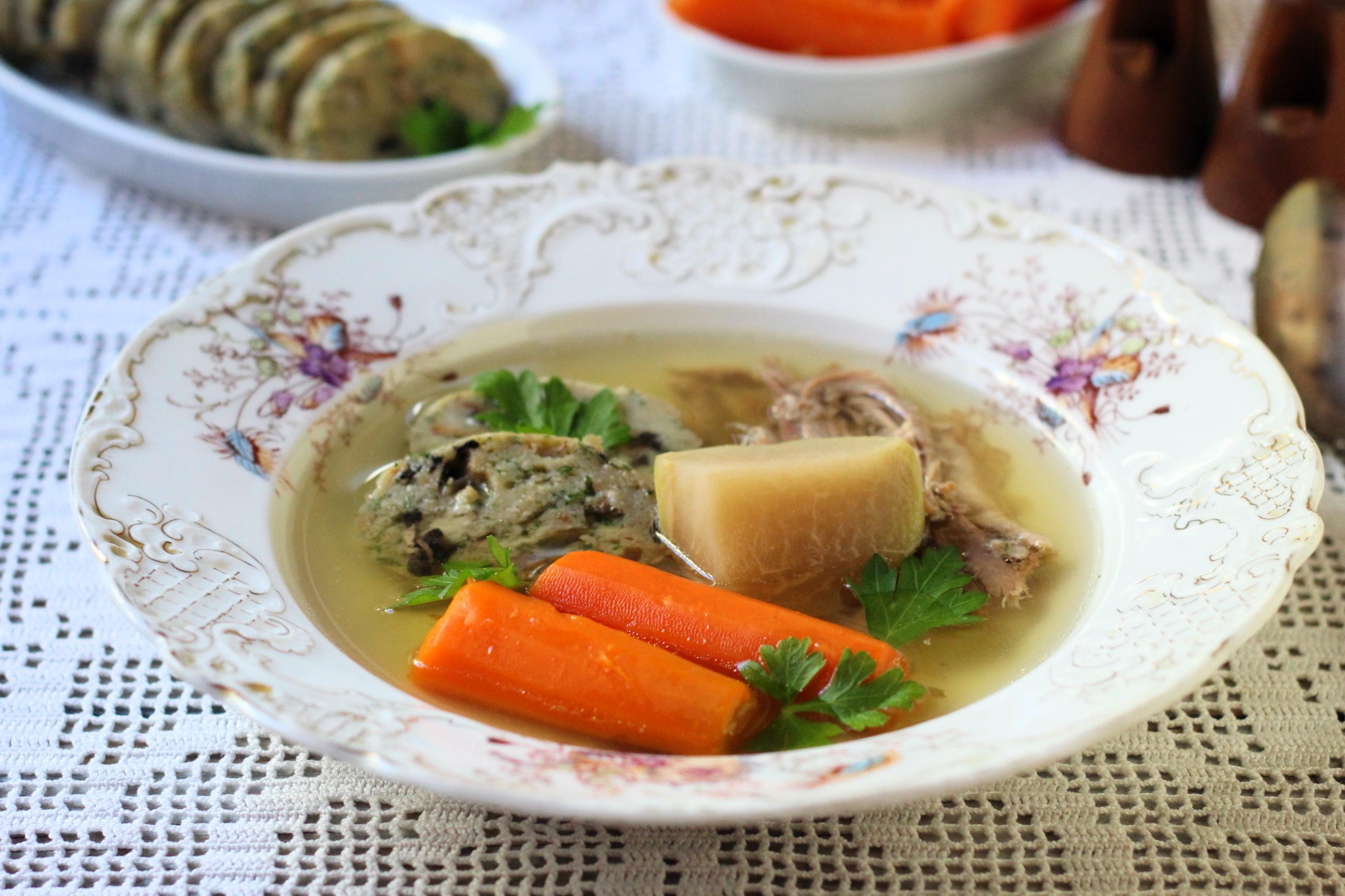 Liba aprólék leves töltelékkel – Nemcsak Márton napon lehet libát enni