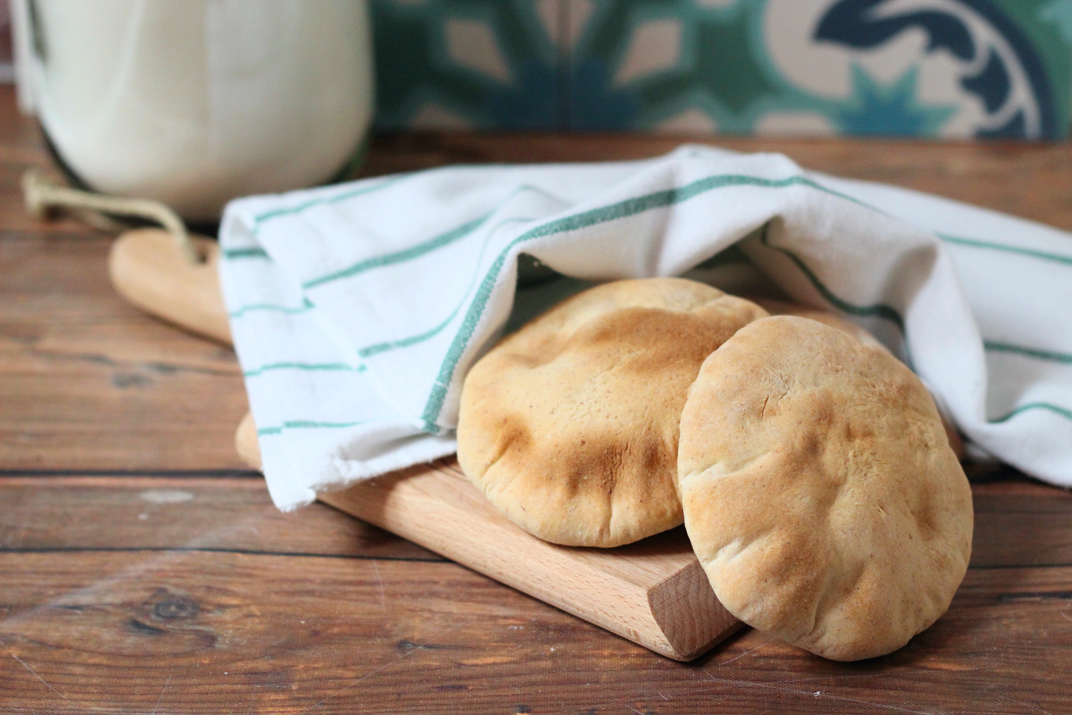 Pita - A görög lapos kenyér házilag készítve a legfinomabb