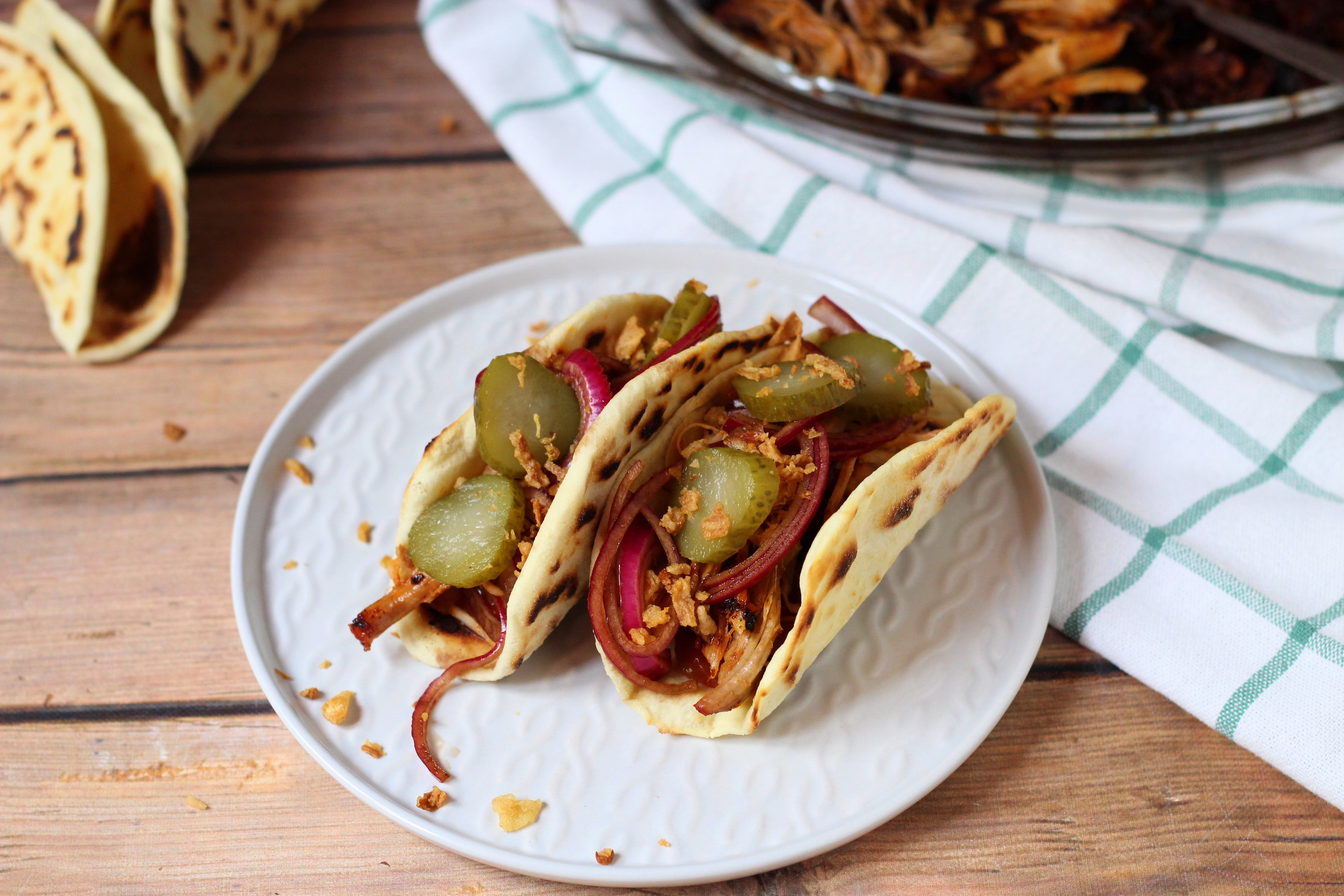 Pulled pork taco - A legfinomabb, lassan sült sertéshús tex-mex módra