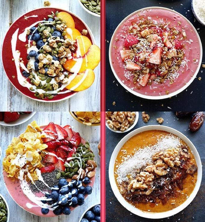 Négy szuper smoothie bowl