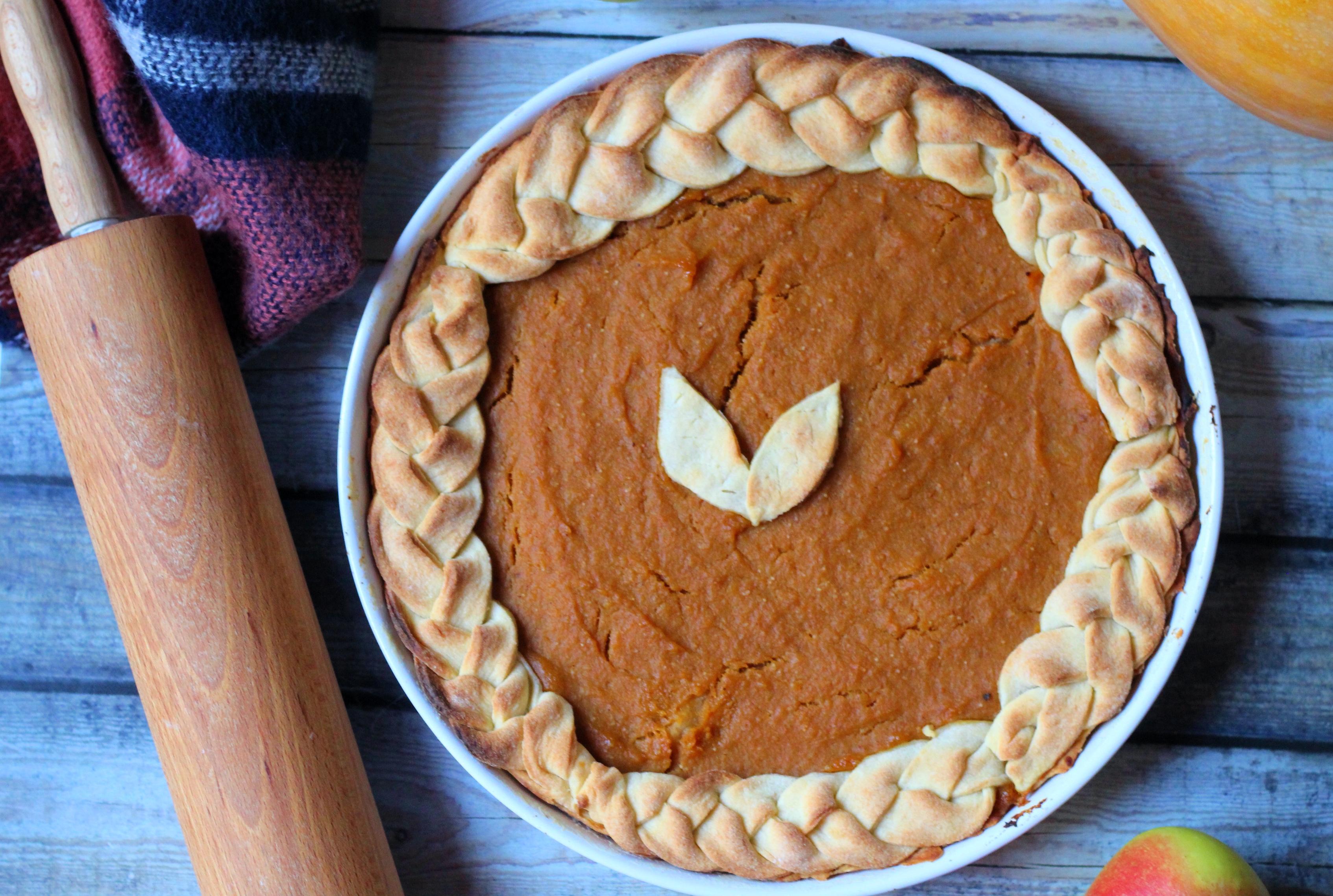 Sütőtökös-almás pite - Őszi ízek egy pitében