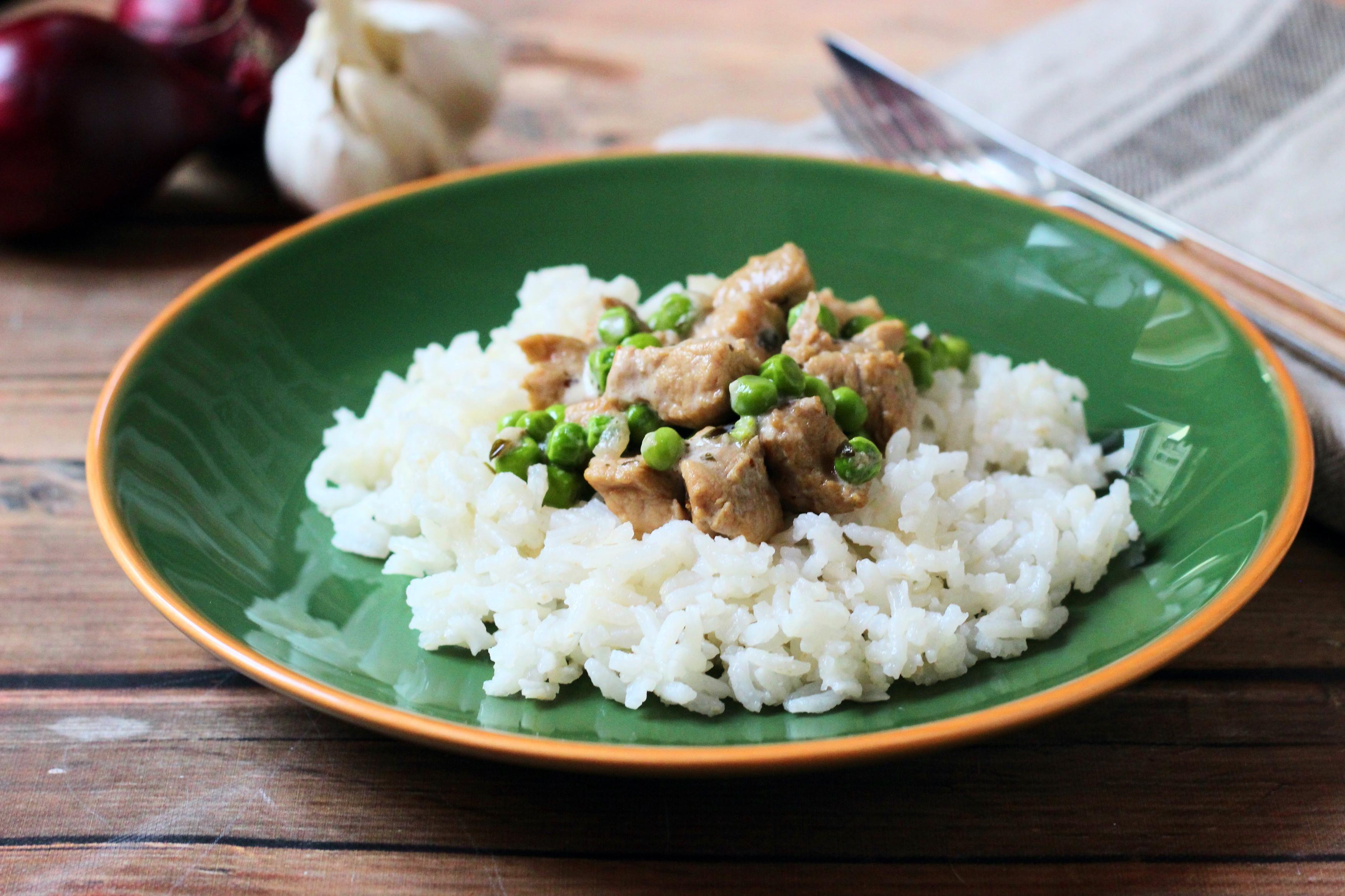 Zöldborsós-tejszínes karaj - Egyszerű, finom fogás ebédre