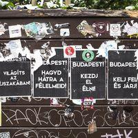 A street art Budapest városszövetében
