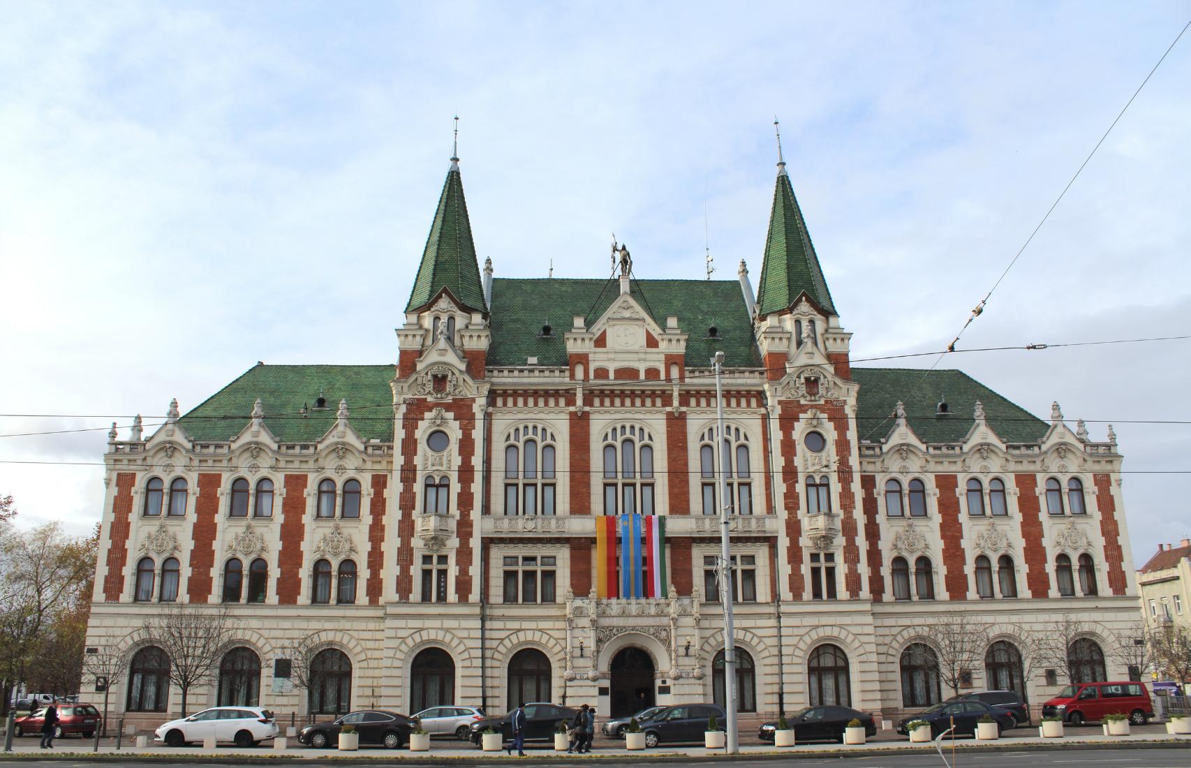Újpest Városháza, Újpest-központ