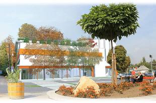 Hidegkúti (Hűvösvölgyi) városközpont - tervek és leírás