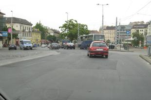 Vak vezetés a Moszkva téren