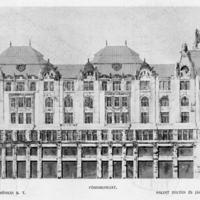 Egy százéves tervpályázat - Párizsi-udvar I. rész