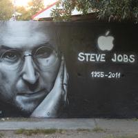 Steve Jobs emlékmű Budapesten